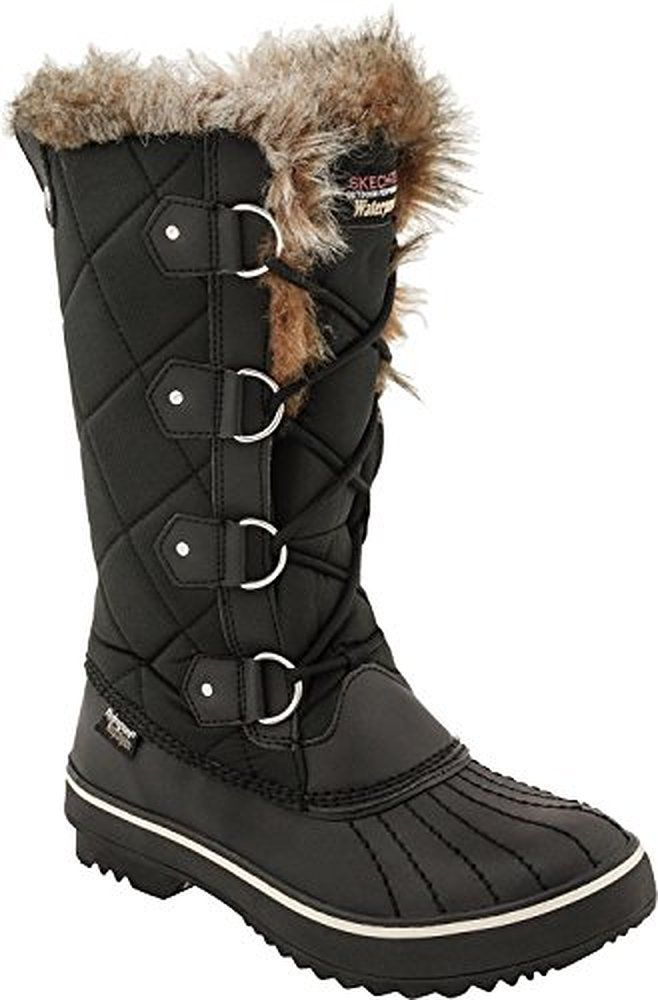 Skechers Usa Women S Highlanders Tall Quilt Snow Boot