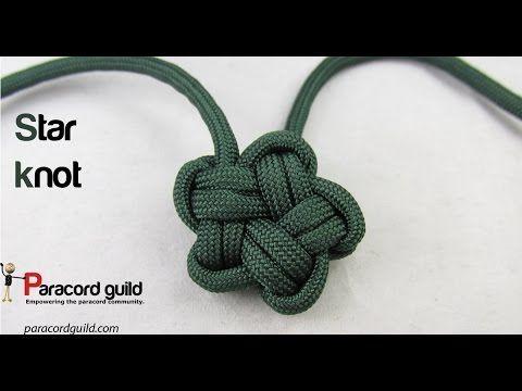 Pallete de cinco puntas. pentagram knot - YouTube