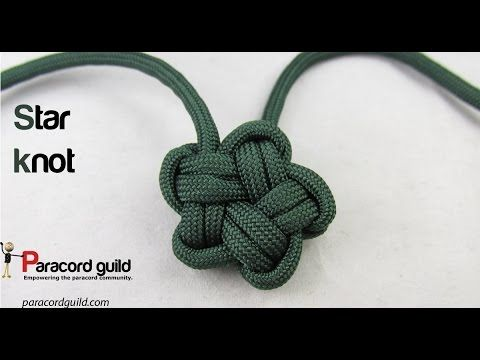 Pallete de cinco puntas. pentagram knot - YouTube