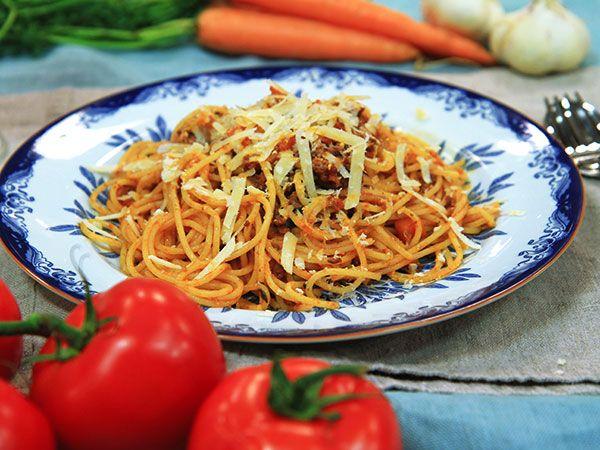 Paolos spaghetti bolognese | Recept.nu
