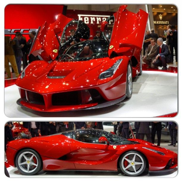 The NEW Ferrari LaFerrari is a beast! What do you think? This or the Lambo Veneno?