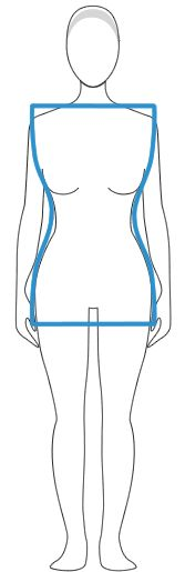 What to wear look best neat hour glass body shape   Joy of Clothes