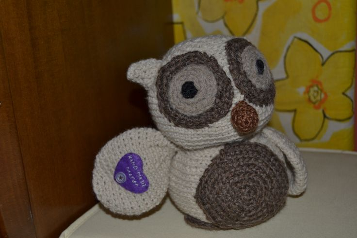 Crocheted softies By Stacey Trocks,  Handmade by Magda