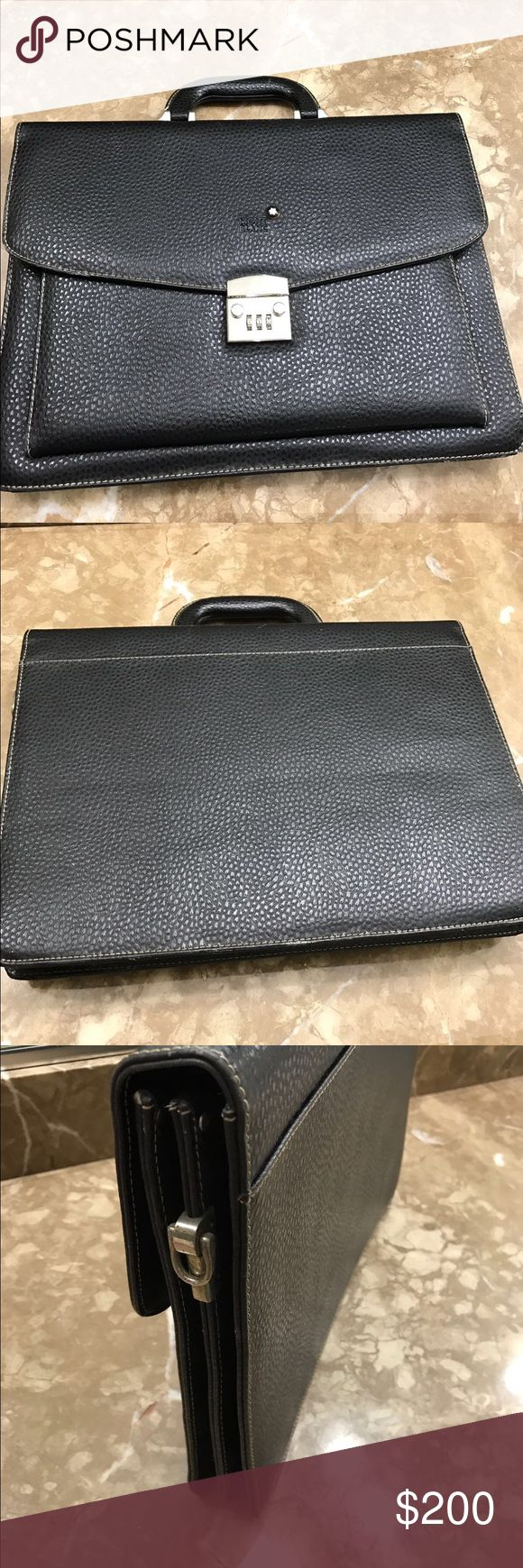 Montblanc handbag for men MontBlanc handbag for men preowned in great condition Accessories