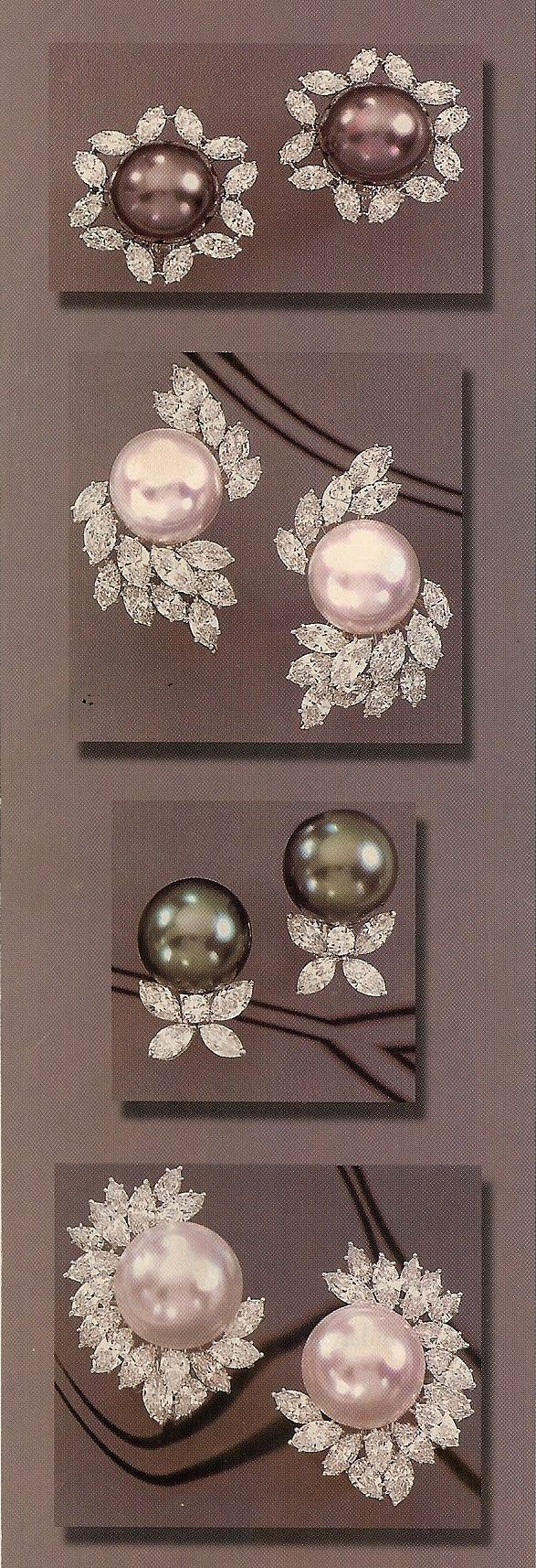 Assael  Ep <3 · Cartier Earringsdiamond Earringspearl