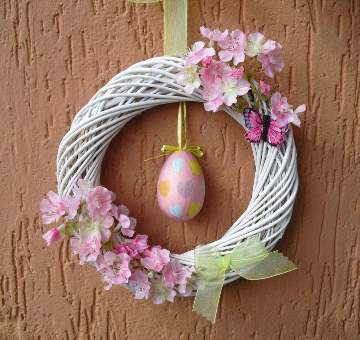 Ghirlanda primavera Pasqua, made in Italy, idea regalo : Decorazioni murali di ghirlandiamo