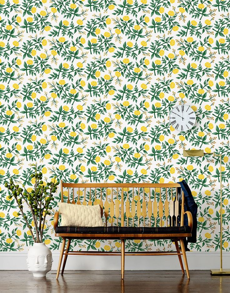 Rifle Paper Co. Launches Fabulous Wallpaper Collection. Wow. With this, all my dreams have come true.