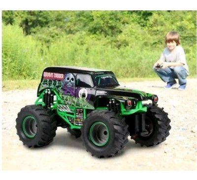 ﹩149.76. New Bright 1:10 RC Monster Jam 9.6V 2.4GHz Grave Digger Remote Control Car Truck   Color - Multi, Option - R/C Full Function Monster Jam 9.6V Grave Digger,