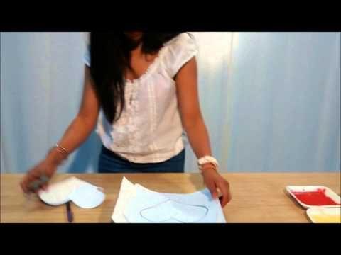 tutorial pintura-salpicado - YouTube