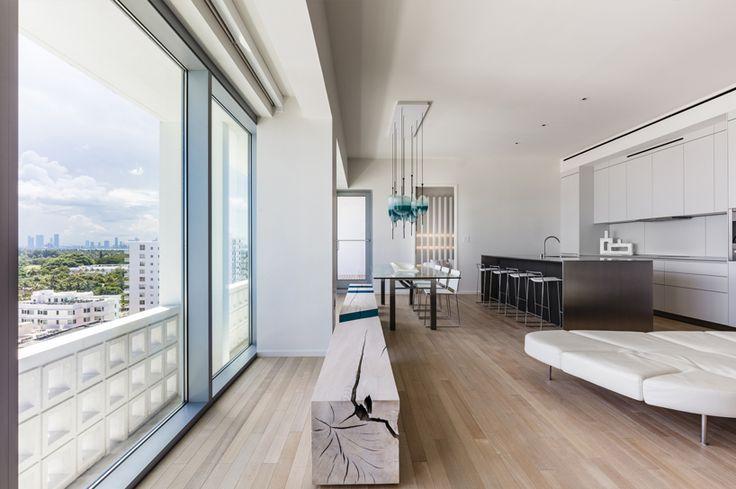 Miami Beach apartment by Alessandro Isola Breezy Miami Beach Apartment for Home Decor Minimalists