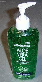 Use aloe vera gel and powdered glass to make liquid stringer