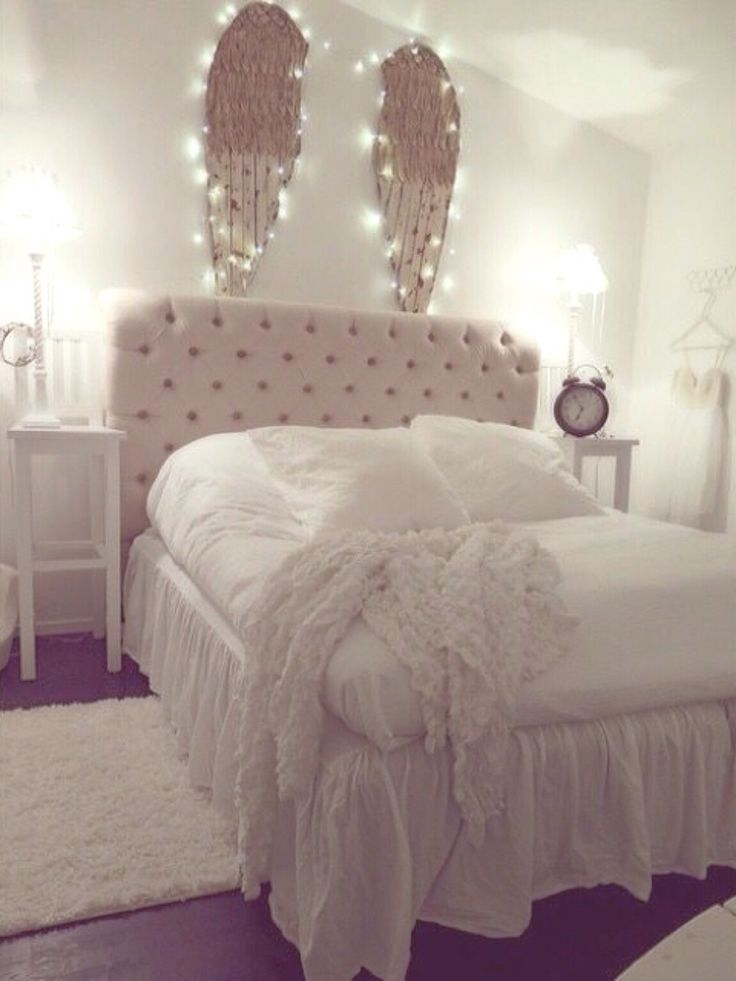 Best 25 angel wings wall decor ideas on pinterest angel wings wall angel wings and shabby - Cute bedroom ...