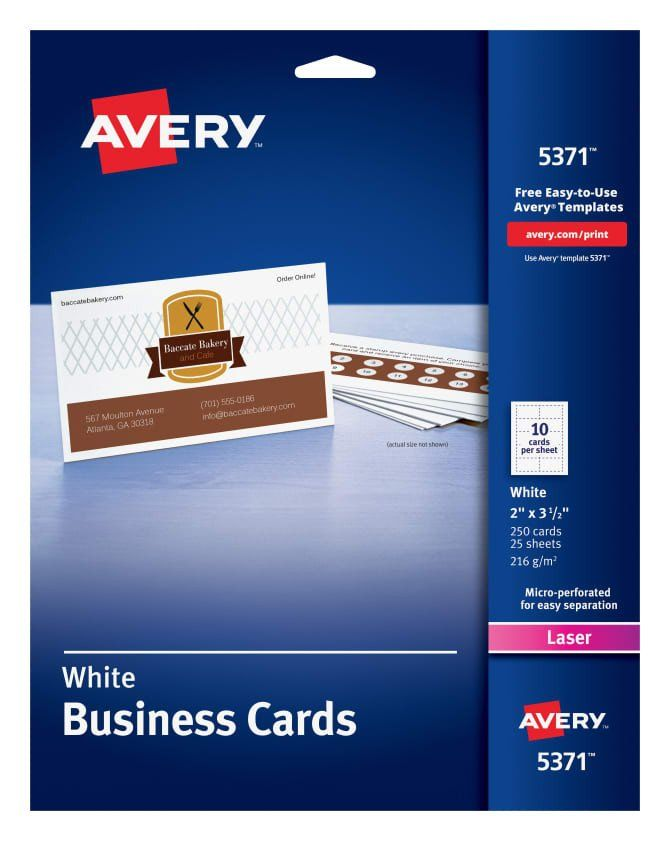 Avery 4x6 Postcard Templates Elegant Avery Business Cards 2 X 3 1 2 Sure Feeda Laser Printing Business Cards Printable Business Cards Avery Business Cards