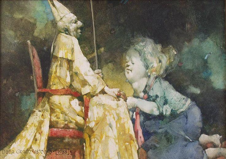 Jerzy Duda Gracz | Painting 1870, 1995 | oil, hardboard | 49.5 x 69.2 cm