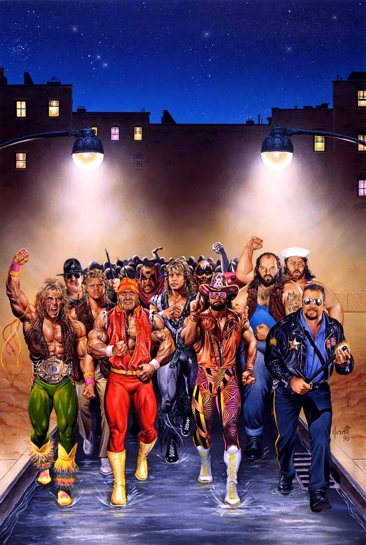 Royal Rumble / 1992 (Joe Jusko)