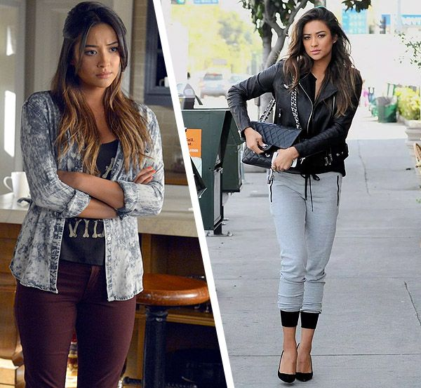 Shay Mitchell Pretty Little Liars Style