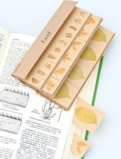 Leaf Index Tabs - contemporary - home office products - by Papermash