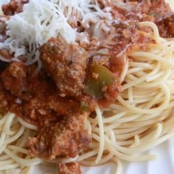 Salsa bolognesa italiana