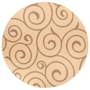 Home Decorators Collection Whirl Cocoa Natural 5 Ft X 8 Area Rug