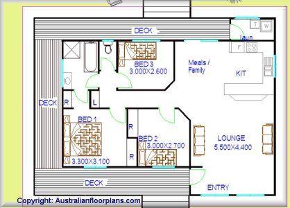 Small & Tiny House Plan