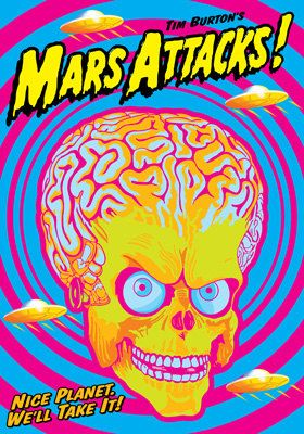 MARS ATTACK 1996 by Tim Burton artistic movie by tarlotoys, €10.00
