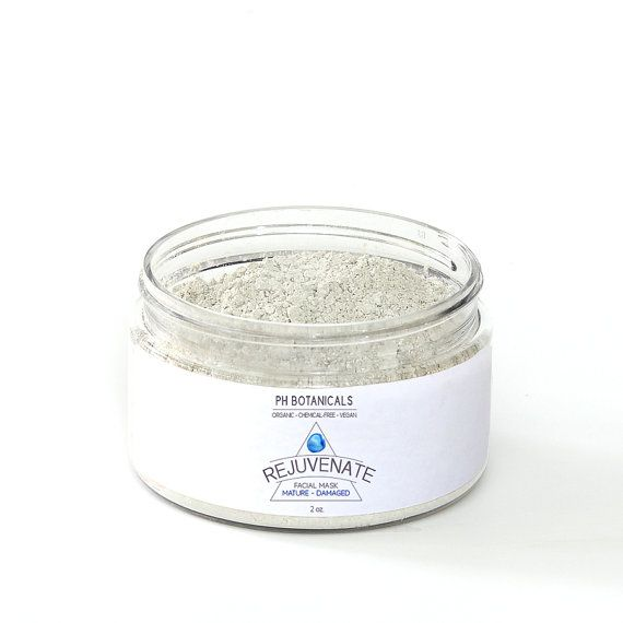 PH Botanical's Rejuvenate Clay Mask removes impurities while infusing your skin with age-rewinding phytonutrients for sun-exposed, mature, and aging skin.  Made with Organic Astragalus Root, Kaolin Clay, Green Tea Extract, and Organic Chamomile Blossoms, your skin is in for a powerful antioxidant boost that will leave you looking refreshed, brighter, and healthier.  Use in conjunction with Remove the Day Cleansing Oils (normal/sensitive skin) and Clear Away Cleansing Oils (for oily/combo…