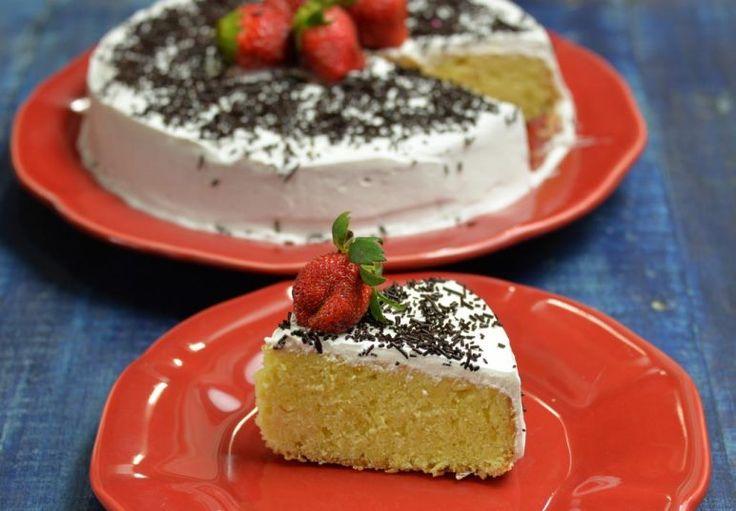 Як приготувати торт Три Молока - покрокові фото  #торты #кулинария #рецепты #блюда #выпечка