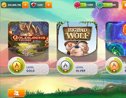 """Check out my @Behance project: """"Mirrorball Slots: Kingdom of Riches"""" https://www.behance.net/gallery/21705347/Mirrorball-Slots-Kingdom-of-Riches"""