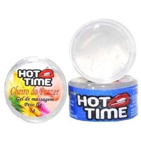 Pomada Funcional Cheiro Do Prazer Hot Time 4g Fabrica de Lingerie | Sexshop | Fitness | Fabricasex