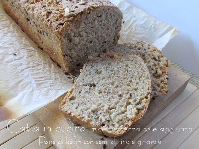pane al kefir con semi di girasole