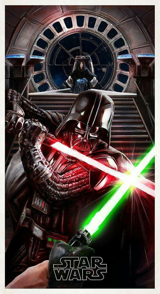 Why is Luke's lightsaber upside down??