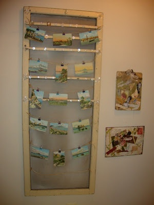 Old screen doors vintage and chicken wire on pinterest - Screens for doors that hang ...
