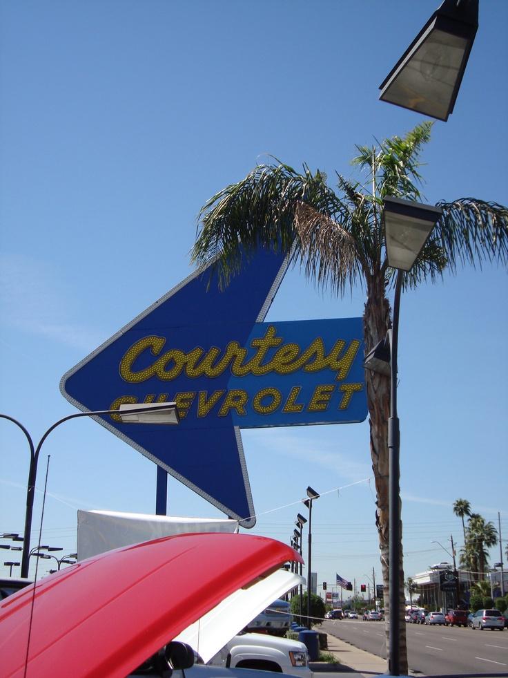 Vintage Signage, Phoenix AZ Vintage neon signs, Arizona