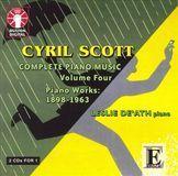 Cyril Scott: Complete Piano Music, Vol. 4: 1898-1963 [CD], 12362394
