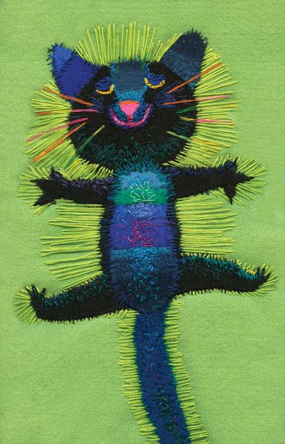 Elzbieta Wasiuczynska illustrations: Chats - http://pinterest.com/pin/530087818612695468/