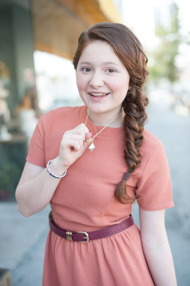 Emma Kenney from Showtime's Shameless wearing Silver Roots on her Zooey Magazine photoshoot