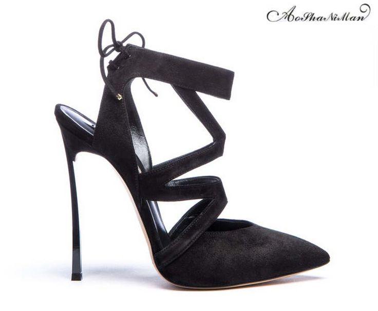Belle perle Sexy Point de métal Toe Patent Leahter Hauts talons Chaussures femme Escarpins Sandales noires Talons Chaussures,rose,39