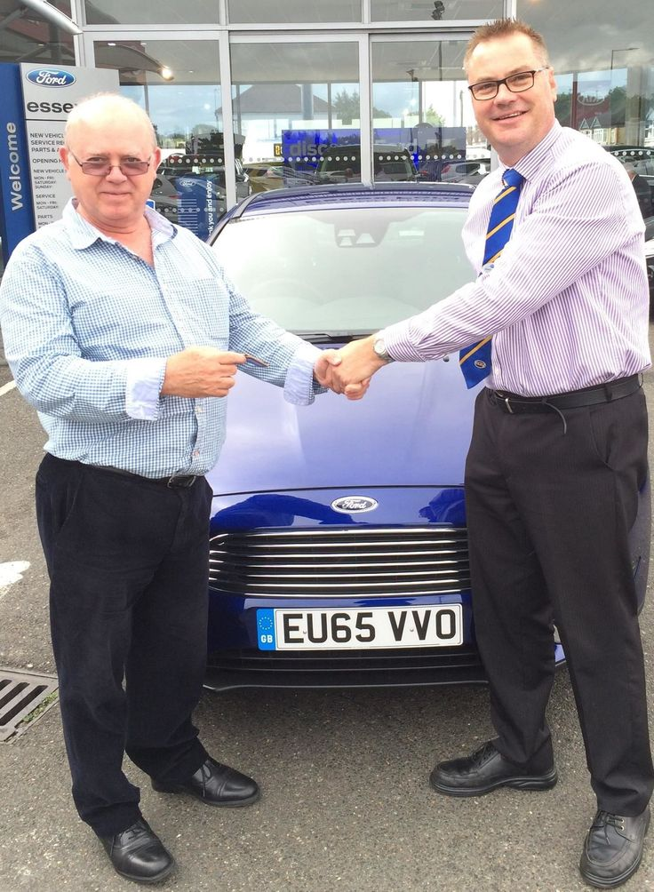 New #65Plate Fords flew off our forecourts, including Dan Mansfield's All-New Focus at our Kent Elms dealership in Southend!
