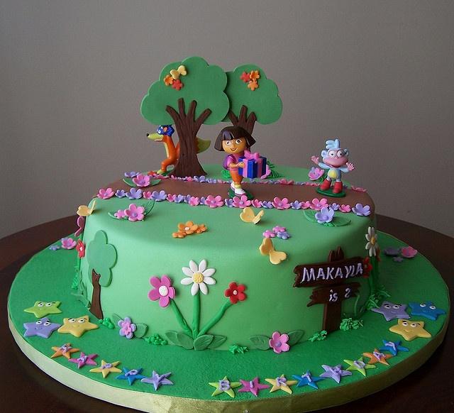 58 Best Dora The Explorer Cakes Images On Pinterest Dora