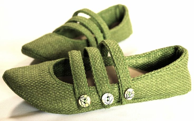chaussures plates projet de couture