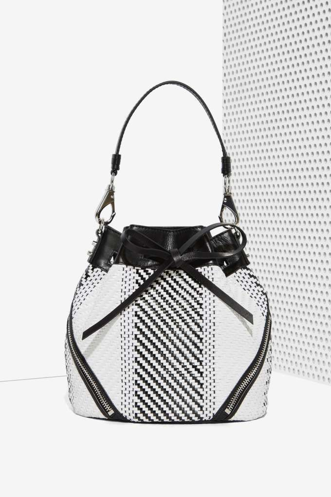She & Lo Make Your Mark Leather Bucket Bag | Shop Accessories at Nasty Gal!