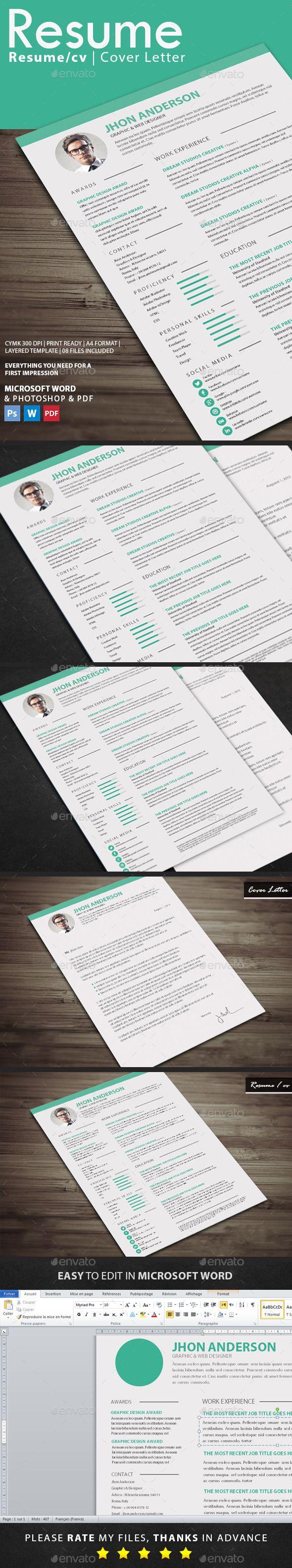 resume template download httpgraphicrivernetitemresume