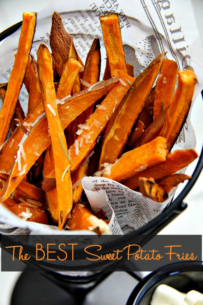 How to Make the Very Best Sweet Potato Fries: a great side dish or appetizer recipe! Everybody loves a good sweet potato french fry... Jo Lynne Shane
