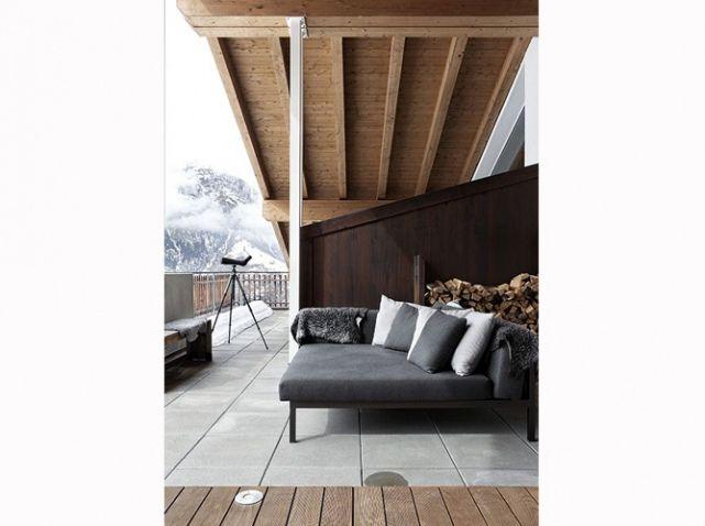 Terrasse chalet design