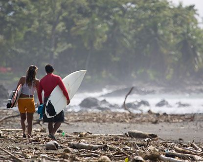 Surf in Costa Rica, I want to learn!