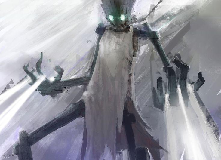 League of Legends - Fiddlesticks by EwaLabak.deviantart.com on @deviantART