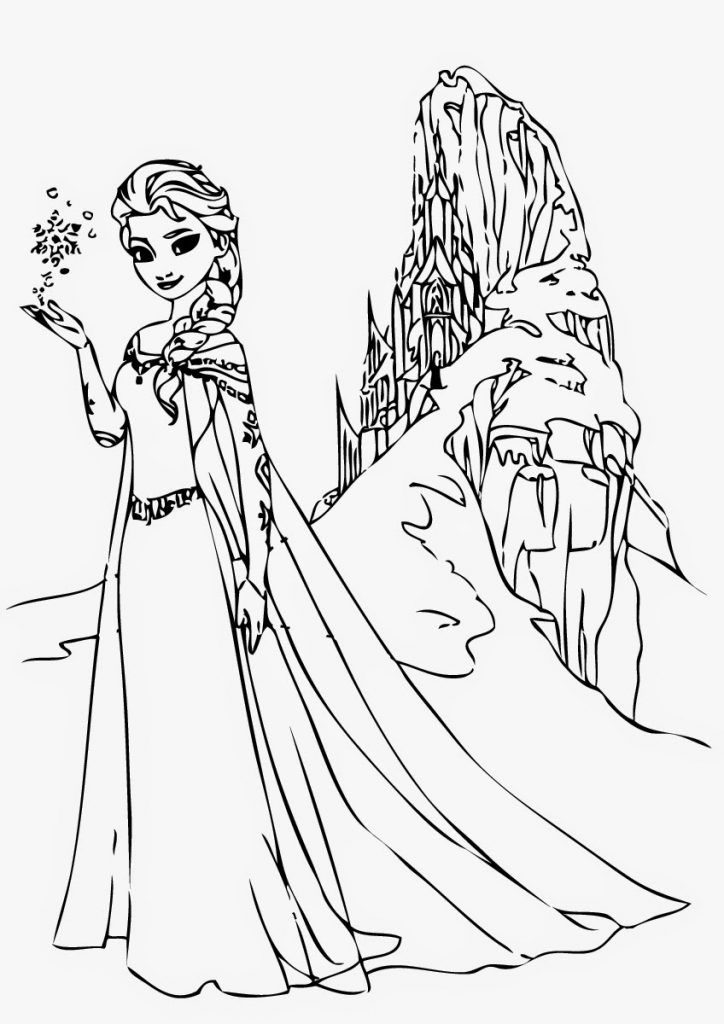 Free Printable Elsa Coloring Pages for Kids | Elsa ...