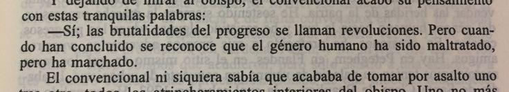 Fragmento del libro Los miserables de Victor Hugo