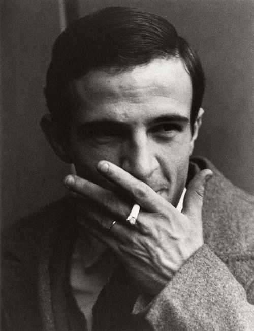 François Truffaut (1932-1984), French film director, screenwriter, producer, actor, and film critic. One of the founders of the Nouvelle Vague. Photo by Lewis Morley