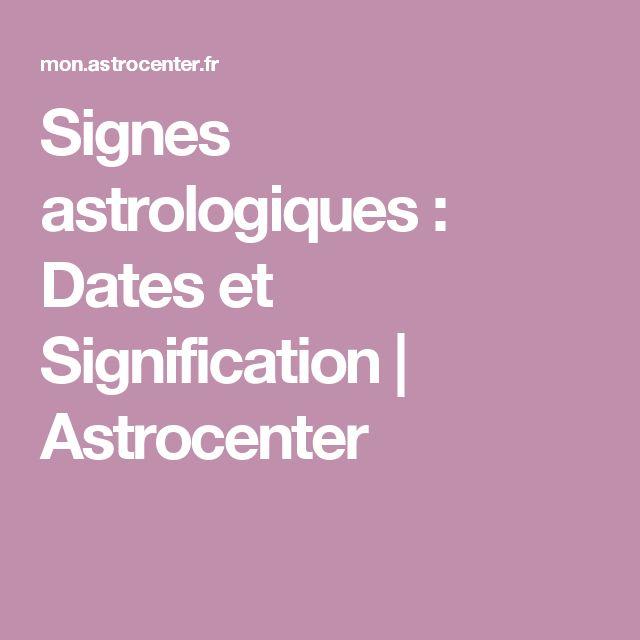 Assez Les 25 meilleures idées de la catégorie Signe astrologique date  IL29